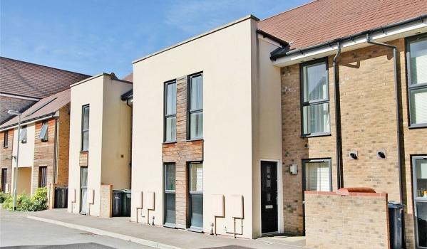 Modern homes in Cambridge.