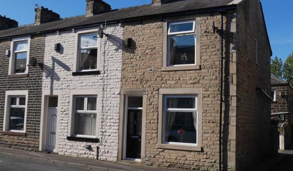 Terraced houses in Burnley