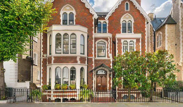 A grand family home in Kensington.