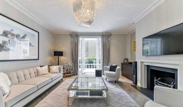 Multi-million pound home in central London.