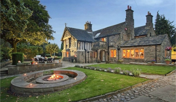 The Grade II-listed Old Rectory in Mirfield