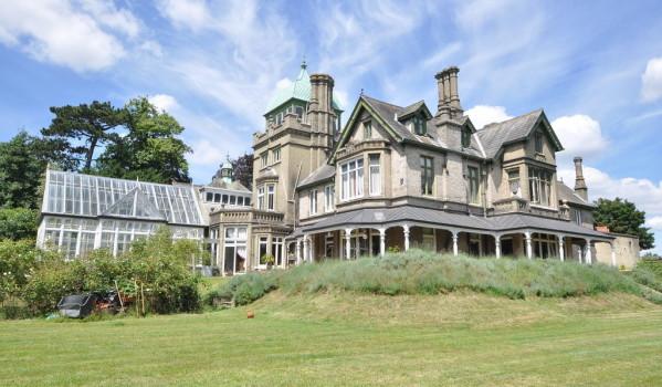 Oak Hill mansion in Ipswich