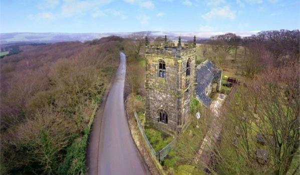 All Hallows Gothic church in High Hoyland