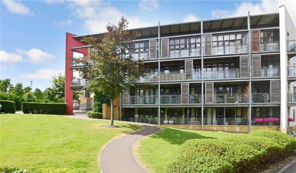 Modern flats in Greenhithe