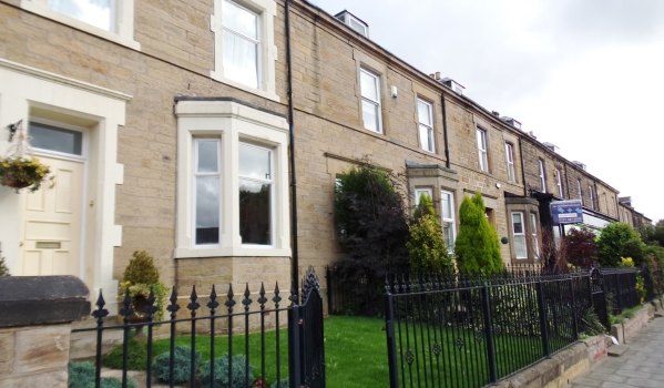 Victorian terraced house in Low Fell