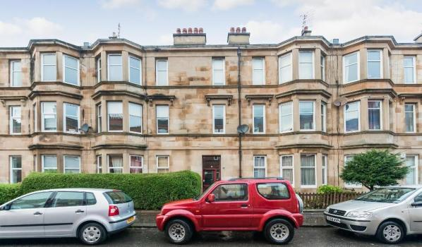 Flat for sale in Glasgow.