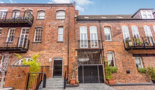 Two-bedroom flat for sale in Birmingham.