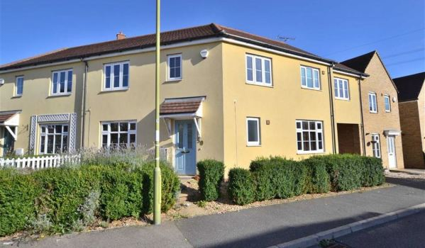 Modern terraced house in Stevenage