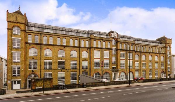 Converted factory in Brixton