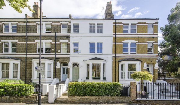 Victorian terraced house in Clapham