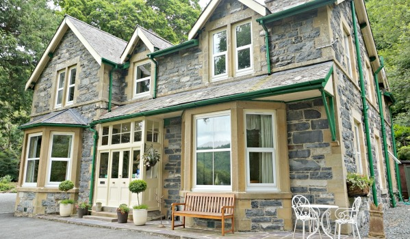 Traditional detached house in North Wales