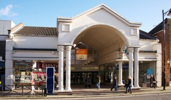 Shopping centre in Fleet