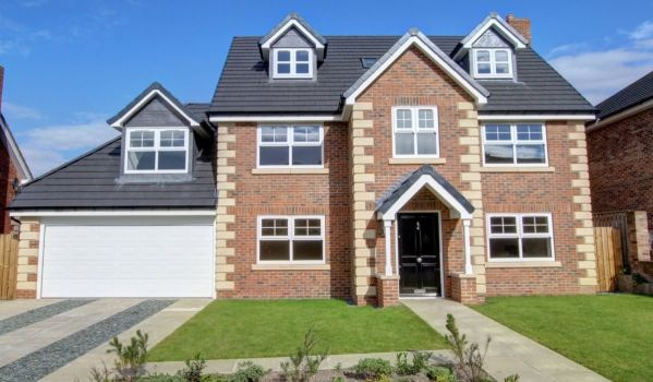 New-build detached house in Rowlands Gill