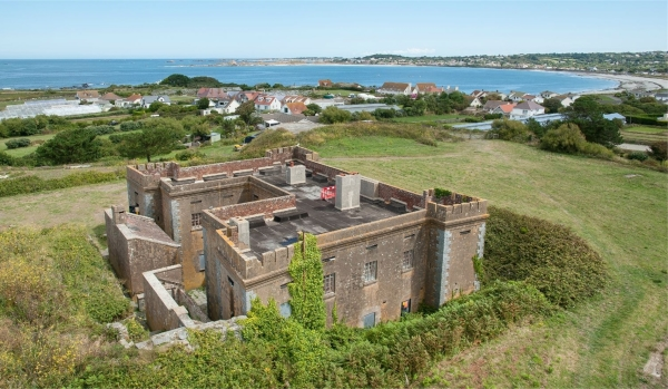 Fort Richard on Guernsey
