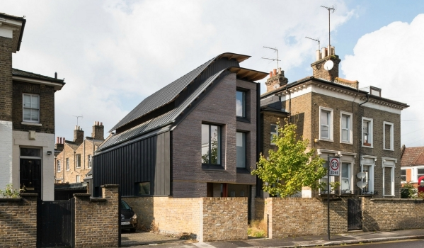 Modern house in Hackney