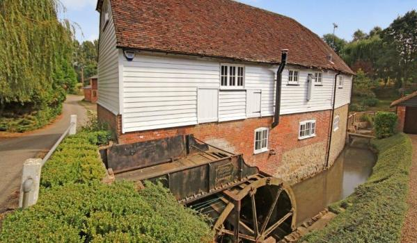 Converted watermill in Harrietsham