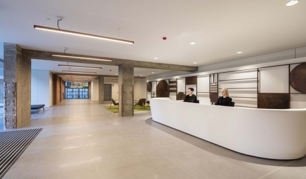 Refurbished offices in Clerkenwell.