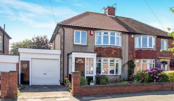 Semi-detached home in Whitley Bay