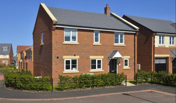 New-build home in Whitley Bay
