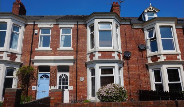 Victorian terraced house in Whitley Bay