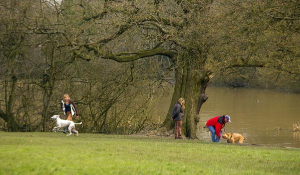Park near New Barnet