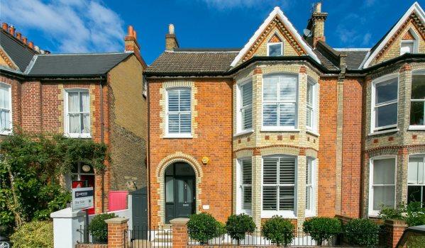 Semi-detached Victorian home