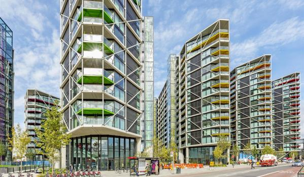 Modern flats in London