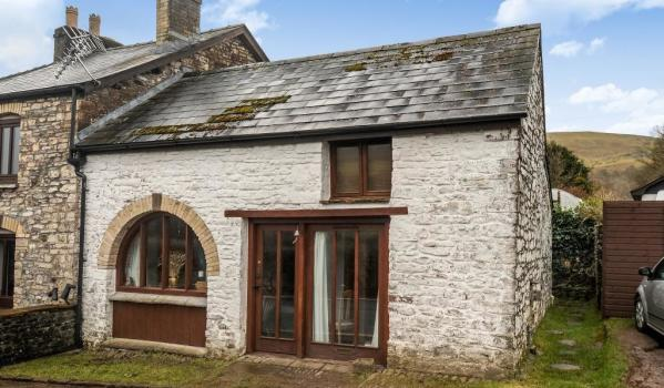 Property for sale in Brecon Beacons.
