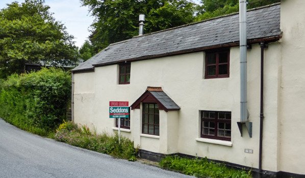 Property for sale in Exmoor.