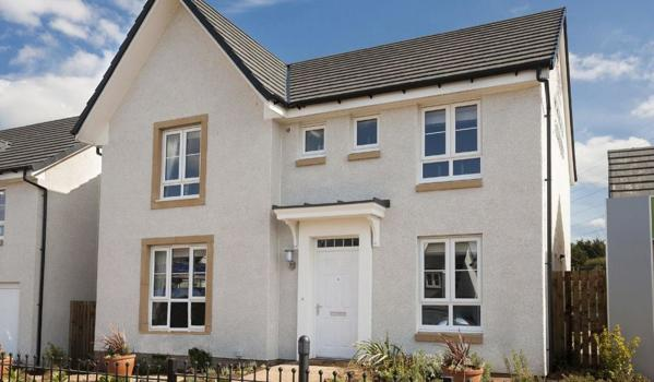 Detached new-build home in Bathgate