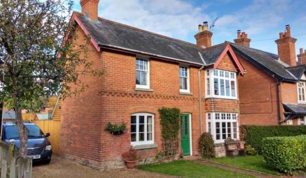 Property for sale in the New Forest.