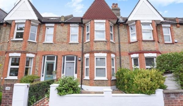 Victorian terraced house in St Margarets