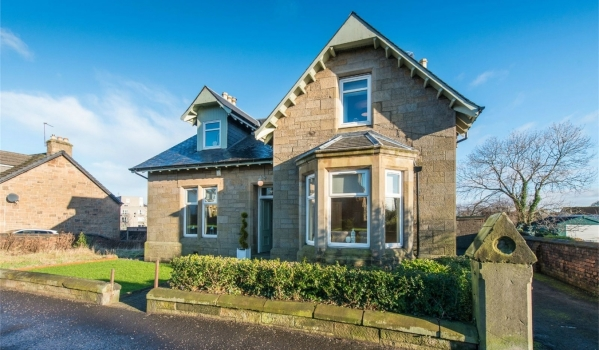 Detached house in West Lothian