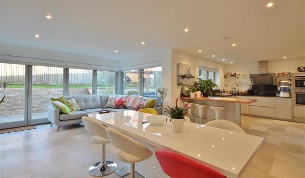 Stylish kitchen in a home in Charlbury