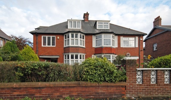 Semi-detached Edwardian house in Heaton