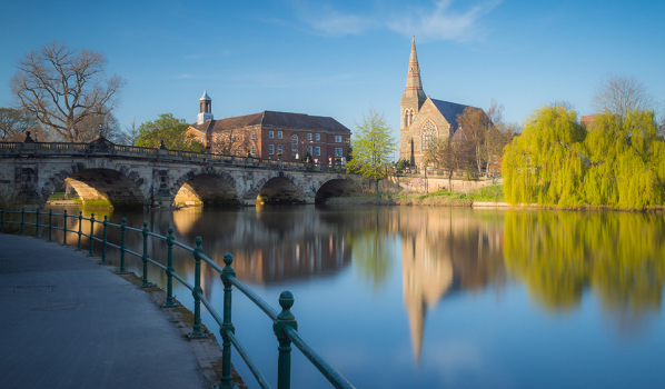 English Bridge, Shrewsbury, Shropshire