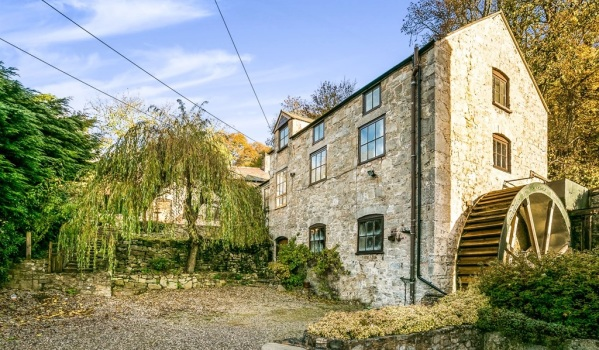 Converted water mill in Nannerch, Mold, Flintshire