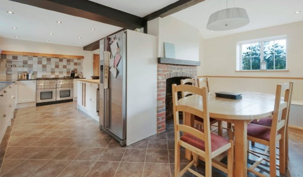 Kitchen-diner of home in Bow Hill, Yalding, Maidstone