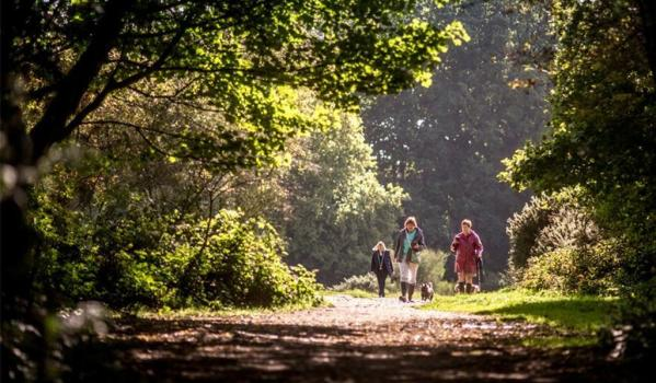 People walking in Buckinghamshire