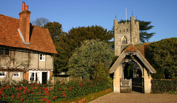 Hambleden Village And Church