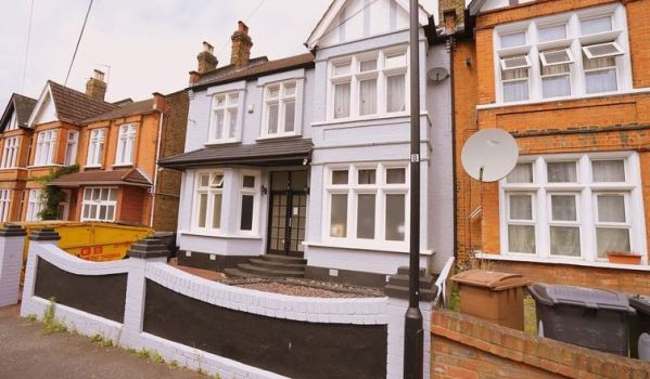 House for sale in east London.