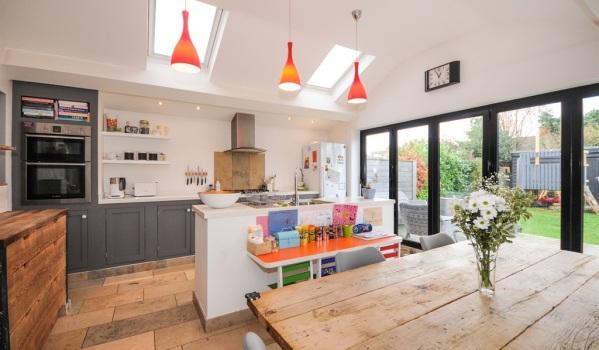 Stylish kitchen extension in Chelmsford