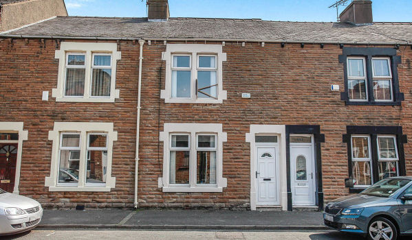 Terraced house in Workington