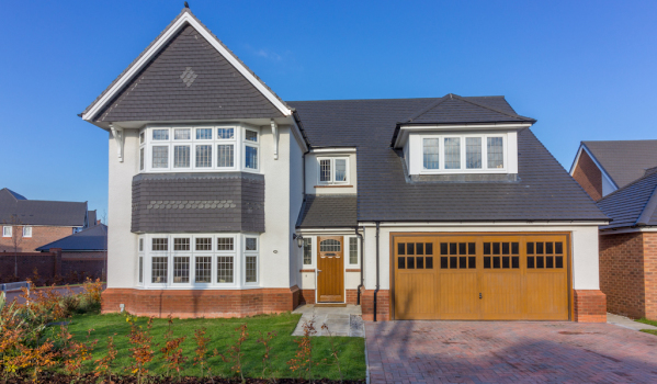 New-build home in Warrington
