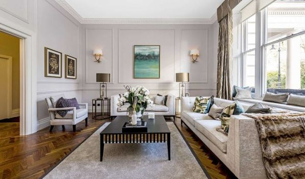 Home for sale on Eaton Square.