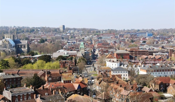 View of Winchester