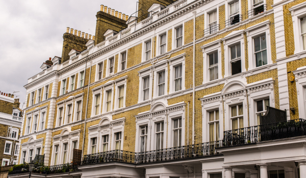 Terraced houses in SW7