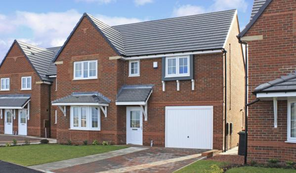 New-build detached house in Consett