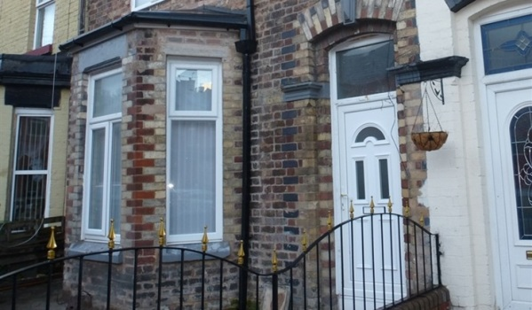 Terraced house in Liverpool