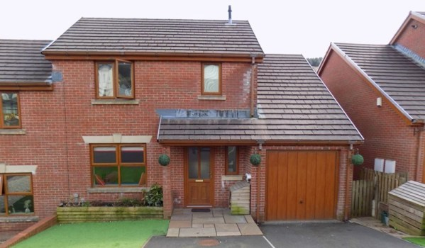 Family home in Clydach Vale